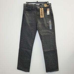 Wrangler Slim Straight Denim Jeans Greyson 33 x 32